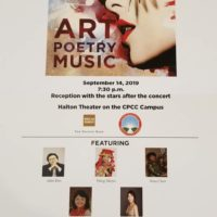 7th AMP Concert(Art, Poetry, Music 9/14/2019)